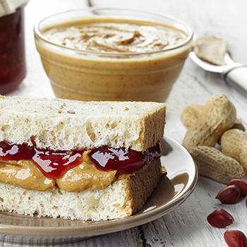 Honey, jam and nut butter