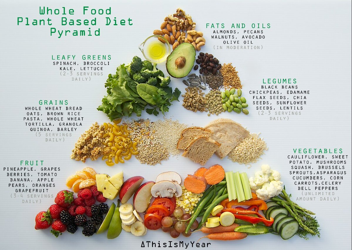 what fats in whole plant diet